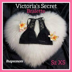 Victoria's Secret Bra Bralette Size XS Black Lace